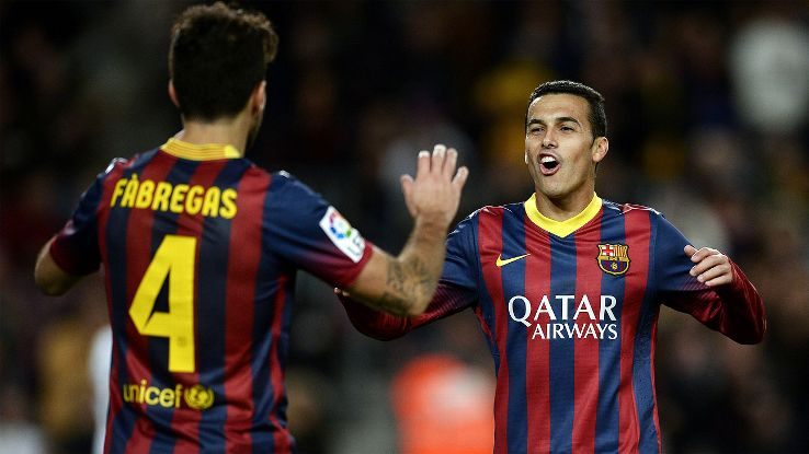 Pedro a bench player on Barcelona's X-men: First Class Team Sold for 30M Euros